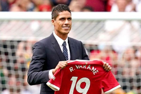 Solskjaer has praised new defender Raphael Varane